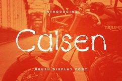 Web Font Calsen Font Product Image 1