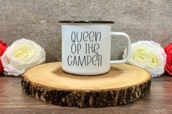 Web Font Camping Adventures - A Quirky Handlettered Font Product Image 4