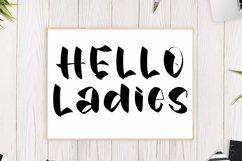 Camping - Stylish Decoration Font Product Image 3