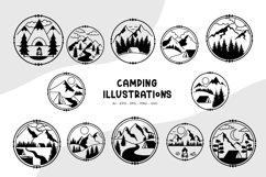 Camping Illustrations Product Image 1