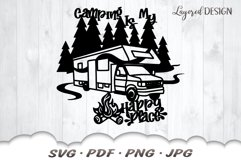 RV Camping SVG Cut Files Product Image 3