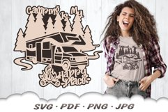 RV Camping SVG Cut Files Product Image 1