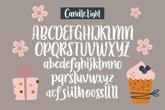 Web Font Candle Light - Handwriting Font Product Image 6