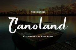 Web Font Canoland Product Image 1