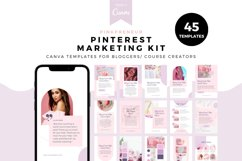 Pinkpreneur, Complete Template Set, Canva Template kit Product Image 5