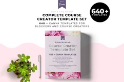 Pinkpreneur, Complete Template Set, Canva Template kit Product Image 1