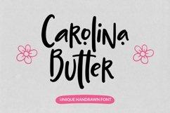 Web Font Carolina Butter - Unique Handrawn Font Product Image 1