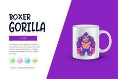 Cartoon Gorilla Boxer. Product Image 2