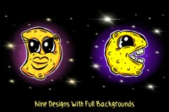 Man In The Moon Cartoon Characters JPG, EPS, SVG, PNG Product Image 3
