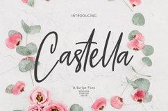 Castella Script Font Product Image 1