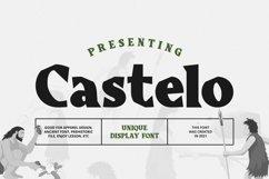 Web Font Castelo Product Image 1