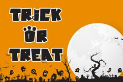Cat Chaos - Halloween Display Font Product Image 2