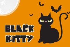 Cat Chaos - Halloween Display Font Product Image 3