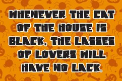 Cat Chaos - Halloween Display Font Product Image 6