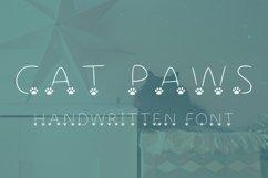 kitty paws handwritten font