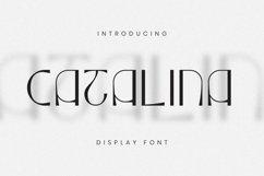 Web Font CATALINA - Display Font Product Image 5
