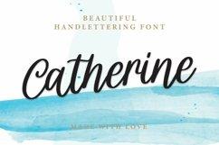 Web Font Catherine - Beautiful Handlettering Font Product Image 1