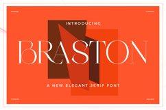 Braston - Elegant Serif Font Product Image 2