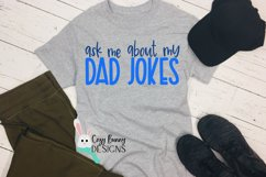 Ask Me About My Dad Jokes SVG - Father's Day SVG Product Image 1