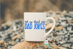 Ask Me About My Dad Jokes SVG - Father's Day SVG Product Image 3