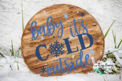 Baby It's Cold Outside SVG Product Image 3