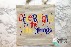 Celebrate the Little Things SVG Product Image 3