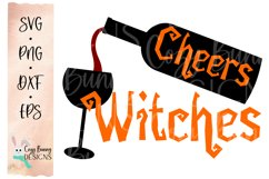 Cheers Witches - Halloween SVG Product Image 2