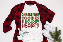 Christmas Cookies and Holiday Hearts SVG - Christmas SVG Product Image 1