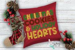 Christmas Cookies and Holiday Hearts SVG - Christmas SVG Product Image 3