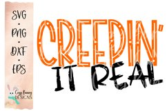 Creepin' It Real - Halloween SVG Product Image 2