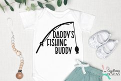 Daddy's Fishing Buddy SVG - Fishing SVG for Baby, Toddler Product Image 3