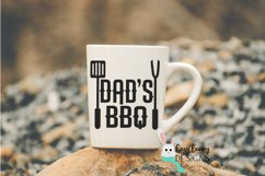 Dad's BBQ SVG - Father's Day SVG - Grilling, Barbeque Product Image 3