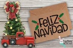 Feliz Navidad SVG - Spanish Christmas SVG Product Image 3