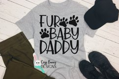 Fur Baby Daddy SVG - Father's Day SVG Product Image 1