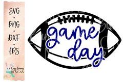 Game Day SVG - Football SVG Product Image 2
