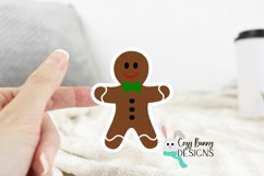 Gingerbread Family Sticker Bundle - Christmas Stickers Product Image 3