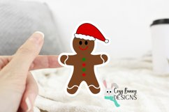 Gingerbread Family Sticker Bundle - Christmas Stickers Product Image 4