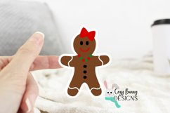 Gingerbread Family Sticker Bundle - Christmas Stickers Product Image 2