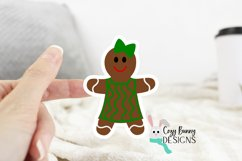 Gingerbread Family Sticker Bundle - Christmas Stickers Product Image 5