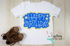 Happy Birthday SVG Cake Topper Product Image 3