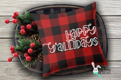 Happy Y'allidays SVG - Christmas SVG Product Image 3