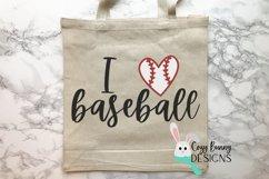 I Love Baseball SVG Product Image 3