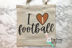 I Love Football SVG Product Image 3