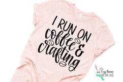 I Run on Coffee & Crafting SVG Bundle Product Image 3