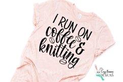 I Run on Coffee & Crafting SVG Bundle Product Image 6