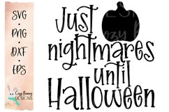 Halloween Countdown SVG with Pumpkin Product Image 2