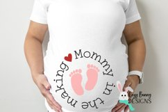 Mommy in the Making SVG - Pregnancy Announcement SVG Product Image 1