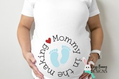 Mommy in the Making SVG - Pregnancy Announcement SVG Product Image 3
