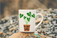 Plant Dad SVG - Father's Day SVG - Monstera Clipart Product Image 3