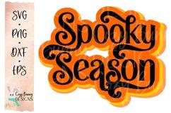 Spooky Season - Retro Halloween SVG Product Image 2
